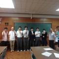北淀高校で認知症サポーター養成講座をしました